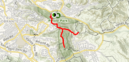 Sobrante Ridge Trail Map