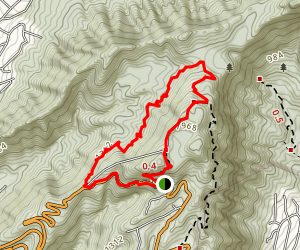 Pauoa Flats Loop Trail Map