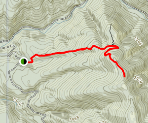 Summit Springs Trail #173 (Snass Creek) Map