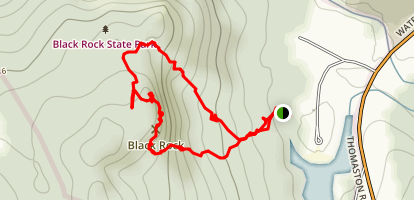 Black Rock Trail Map