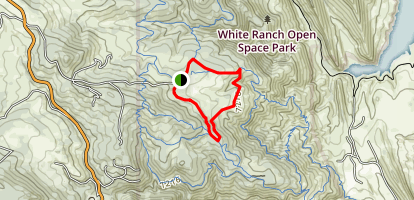 Maverick and Sawmill Trails Map