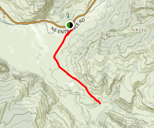 Lamar Valley Trail Map