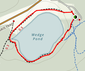 Wedge Pond Loop Trail Map