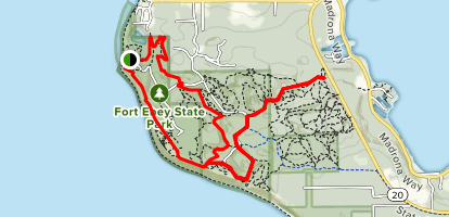 Fort Ebey State Park Loop Map