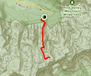 Browns Point Trail Map