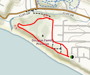 Arroyo Burro Beach Trail Map