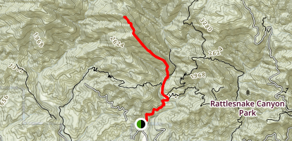 Cathedral Peak Trail Map