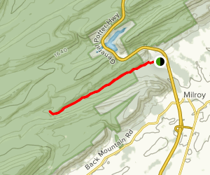 Lingle Valley Trail Map