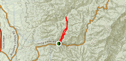 Chamisa Trail Map