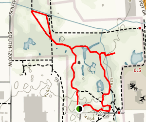 Ogden Nature Center Trail Map