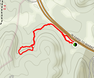 Cedar Mountain Preserve Trail Map