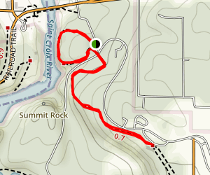 Glacial Pothole and Ice Age Trail Map