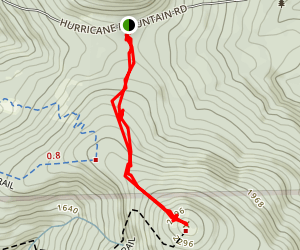 Black Cap Trail Map