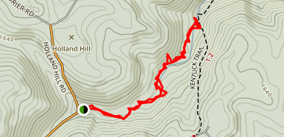 Youghiogheny River Trail to Jonathan Run Falls Map