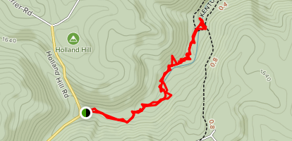 Youghiogheny River Trail to Jonathan Run Falls [CLOSED] Map