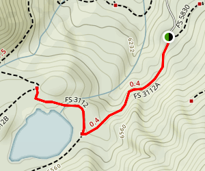 Rat Lake Trail Map