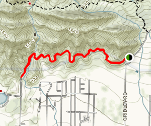 Shelf Road Trail Map