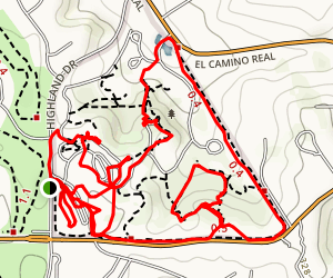 San Dieguito Park Trail Map