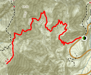 Smith Mountain Trail Map