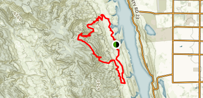 Lory State Park Loop Trail Map