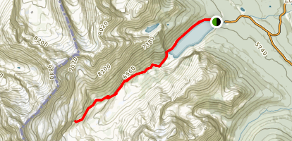 Plain of the Six Glaciers Trail Map
