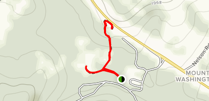 Fort Necessity Tour And Woods Walk Trail Map