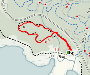 Old Beech Nature Trail Map