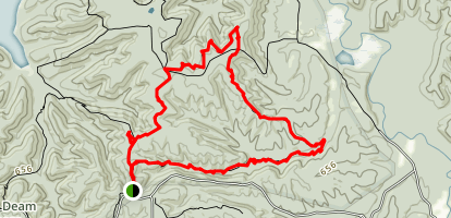 Sycamore Loop Trail Map
