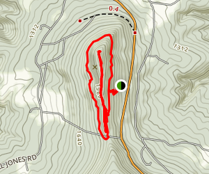 Round Top Mountain Trail Map