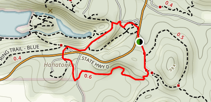 Devil's Kitchen Trail Map