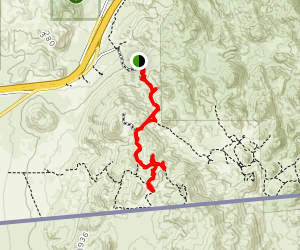 Blue Angels Peak Trail Map