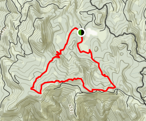 Yellowjacket Loop Map