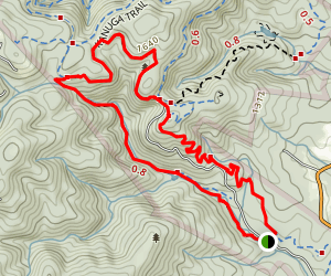 Sulphur Springs Trail Map