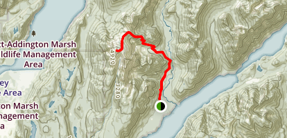 Golden Ears Trail Map
