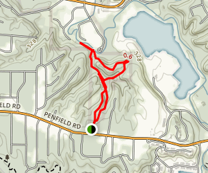 Coyotes Den Trail Map