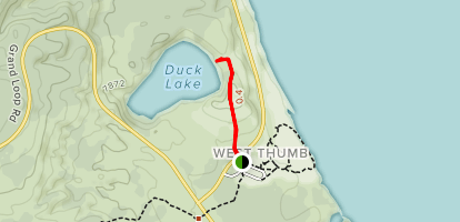 Duck Lake Trail Map