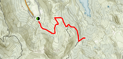 Emigrant Pass Trail Map