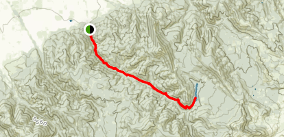 Bozeman Creek Trail Map