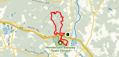 Oaklands Tunnel Trail Map