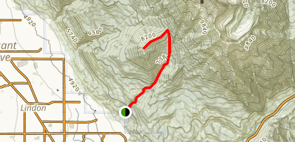 Big Baldy Summit Map
