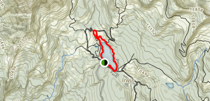 Kebler Pass / Irwin Lake Map
