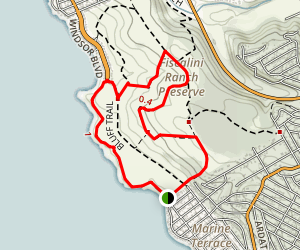 West Ranch Bluff Trail Map