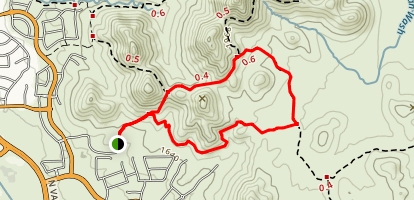 Hawk's Nest/Desert Tortoise/Dixie Mountain Loop Map