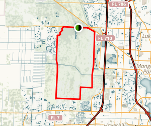 Grassy Waters Preserve Trail Map