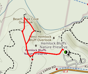 Beech Tree Cove Trail Map
