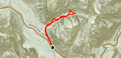 Perry Creek Trail Map