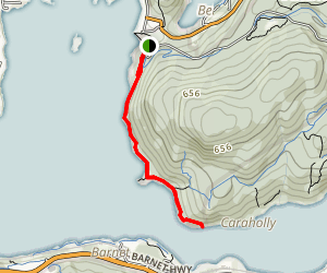 Burns Point Trail Map