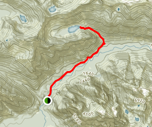 Marten Lake Trail Map