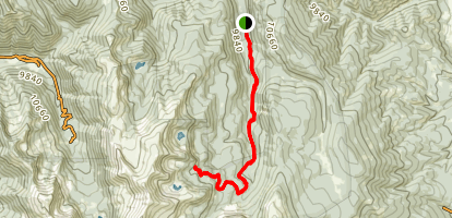 East Fork Red River Trail Map