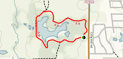 Sutton Wilderness Trail Map